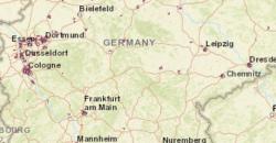 Karte über LTE-Verfügbarkeit der Telekom